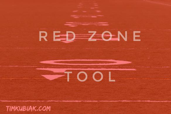 Red Zone Opportunity Management tool graphic