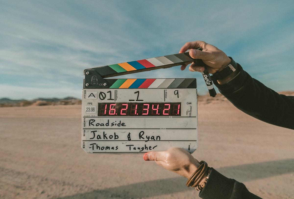 Film Marker for movie scene