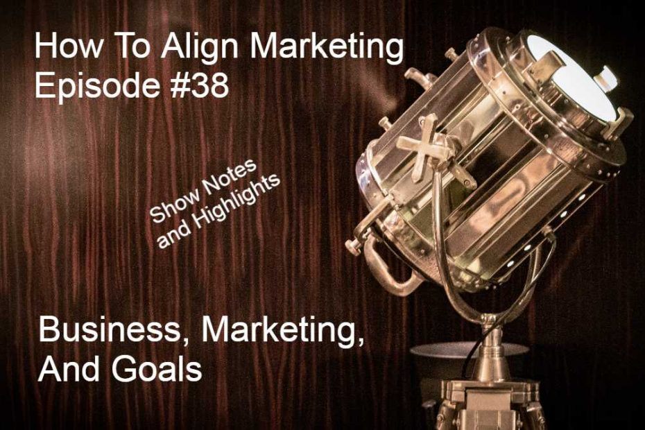How to Align Marketing with Business Goals Episode 38
